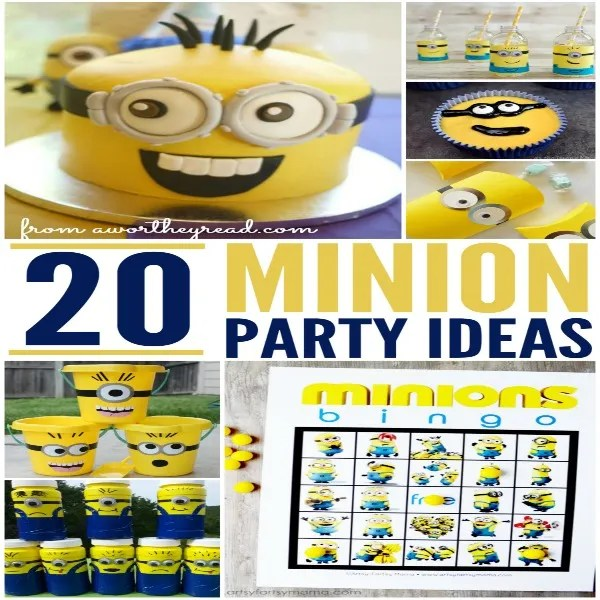 20 Minion Party Ideas