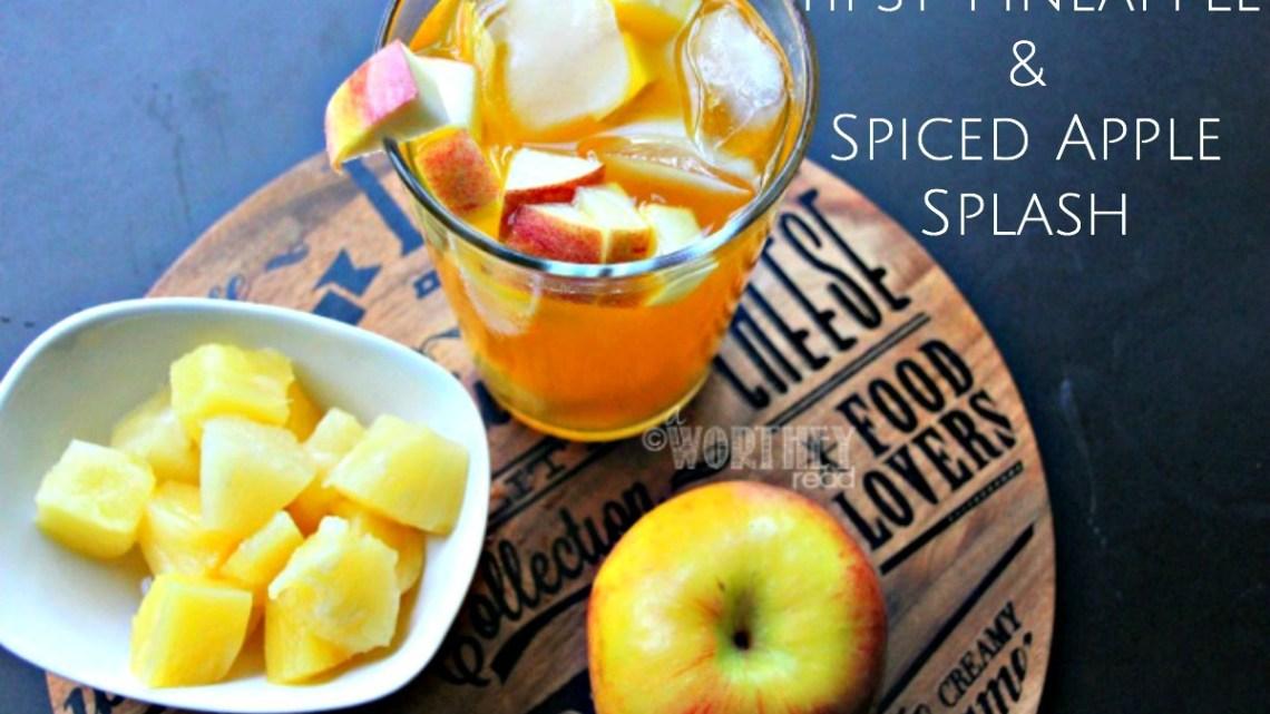 Tipsy Pineapple & Spiced Apple Splash   Drink Recipe