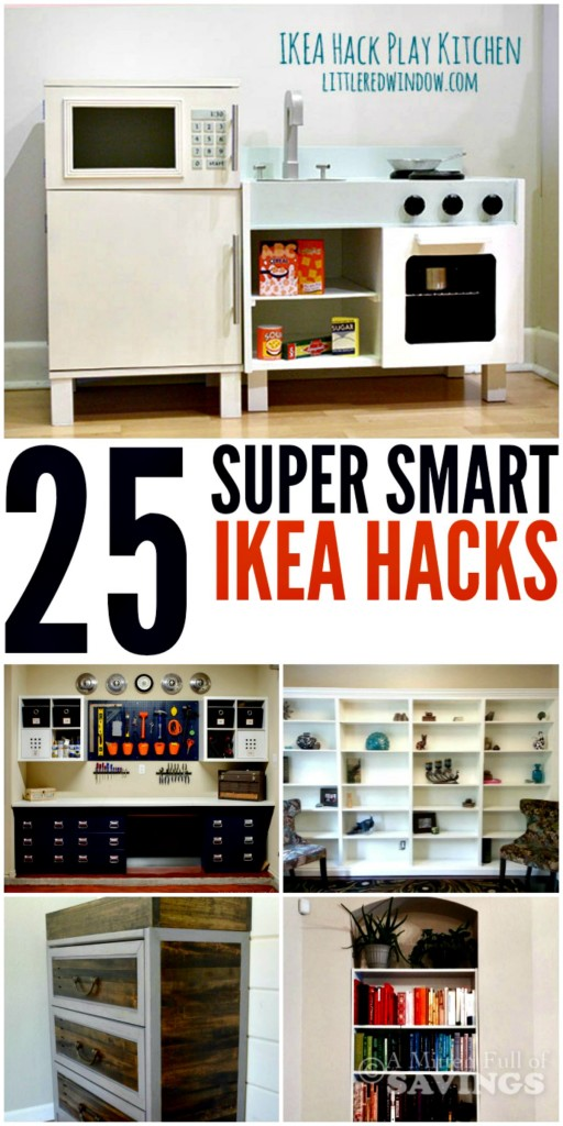 25 Super Smart Ikea Hacks
