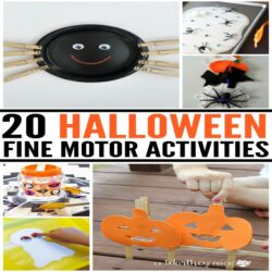20 Halloween Fine Motor Activities
