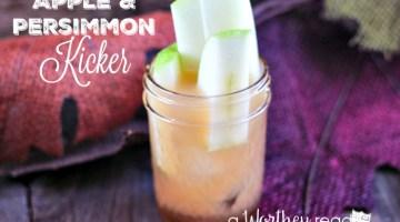 Apple & Persimmon Kicker