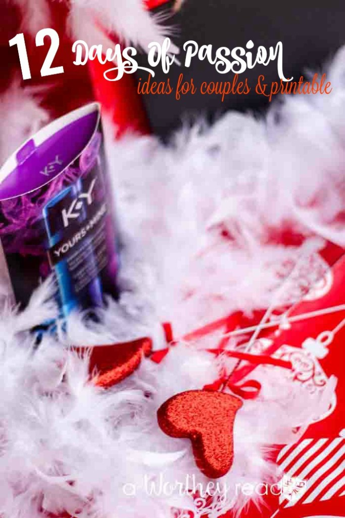 12 Days Of Passion Ideas for Couples & Printable