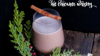 Sit back and relax with a warm drink, perfect for a snowy day- Hot Chocolate Whiskey