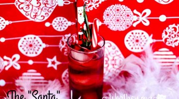 Easy Christmas Cocktail - The SANTA