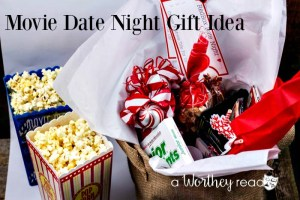 Date Night Movie Gift Basket Idea {& Printable}