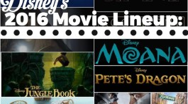 Check out the lineup of movies dropping from Disney, Pixar and Dreamworks for 2016