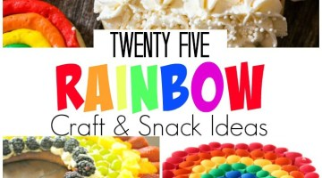 25 Rainbow Craft & Snack Ideas