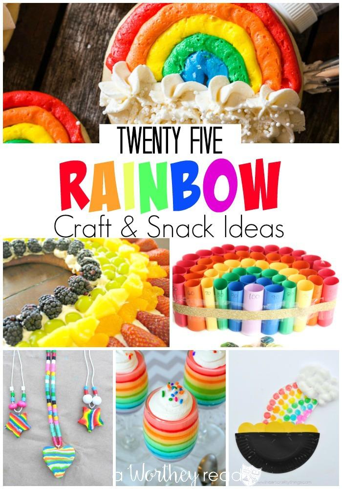 Rainbow Craft & Snack Ideas