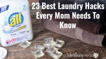 Save time and money with the best laundry hacks for moms! 23 Best Laundry Hacks Every Mom Needs To Know