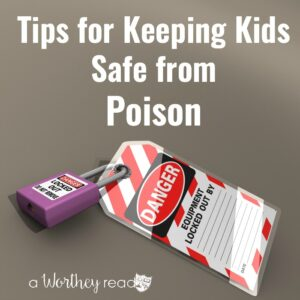 It's important as Parents we learn how to keep our kids safe. Here's a few tips on how to keep your kids away from poison!
