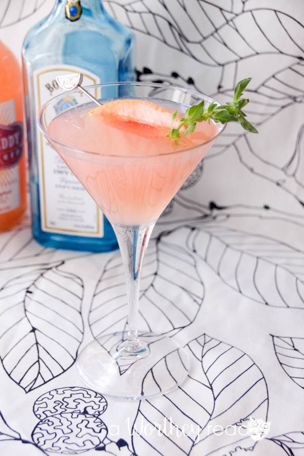 Gin Martini gets an upgrade when blended with citrus to create our flavor popping Grapefruit Gin Martini! You'll love this light and delicious cocktail! Blend Gin and Grapefruit into a fruity martini cocktail idea- Grapefruit Gin Martini