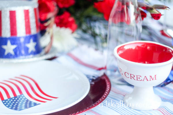 Red, White & Blue Outdoor Party Theme-15