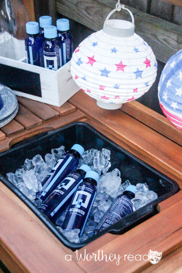 Red, White & Blue Outdoor Party Theme-18