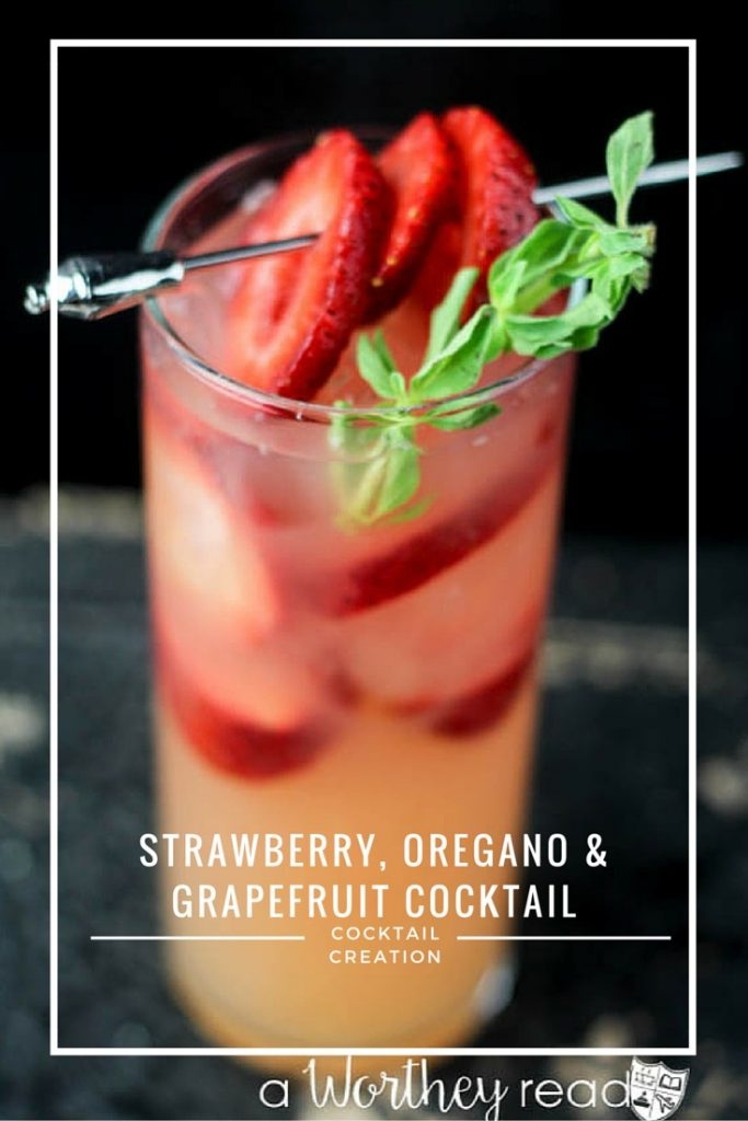 Grapefruit and Strawberry in a cocktail? Yes, here's a refreshing summer cocktail recipe to try: Strawberry, Oregano & Grapefruit Cocktail
