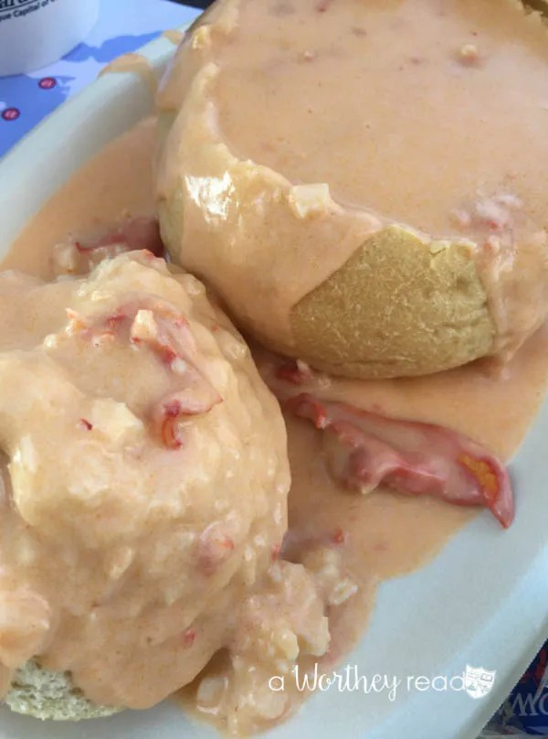 Best Lobster Bisque at The Boardwalk Put-In-Bay