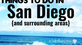 Planing to spend time in California? Here's a list of things to do in San Diego (and surrounding areas) California Vacation Destinations in San Diego County
