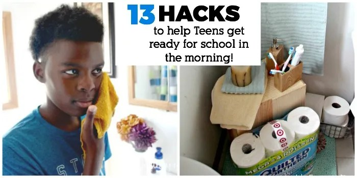 13 Hacks To help Teens Get Ready For School In The Morning