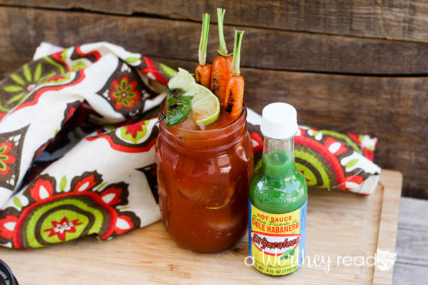 Bloody Mary White Roasted & Peppers Cocktail