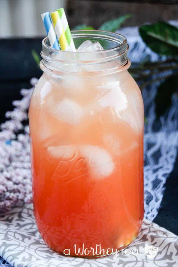 Summer Strawberry Blood Orange Soda