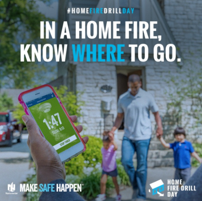 Do you practice home fire drills? These tips will help you implement a plan to practice home fire drills, including free templates and printables.