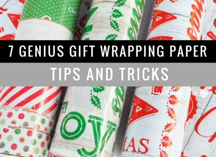 Check our 7 Genius Gift Wrapping Paper Tips and Tricks to make it easier to manage this holiday season! Christmas gifts are easy to wrap when you use these!