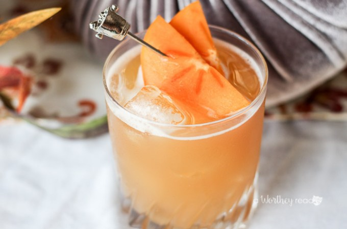 Kick off the fall season with this punch cocktail. It's perfect for any holiday party or fall festival! Apple Persimmon Punch