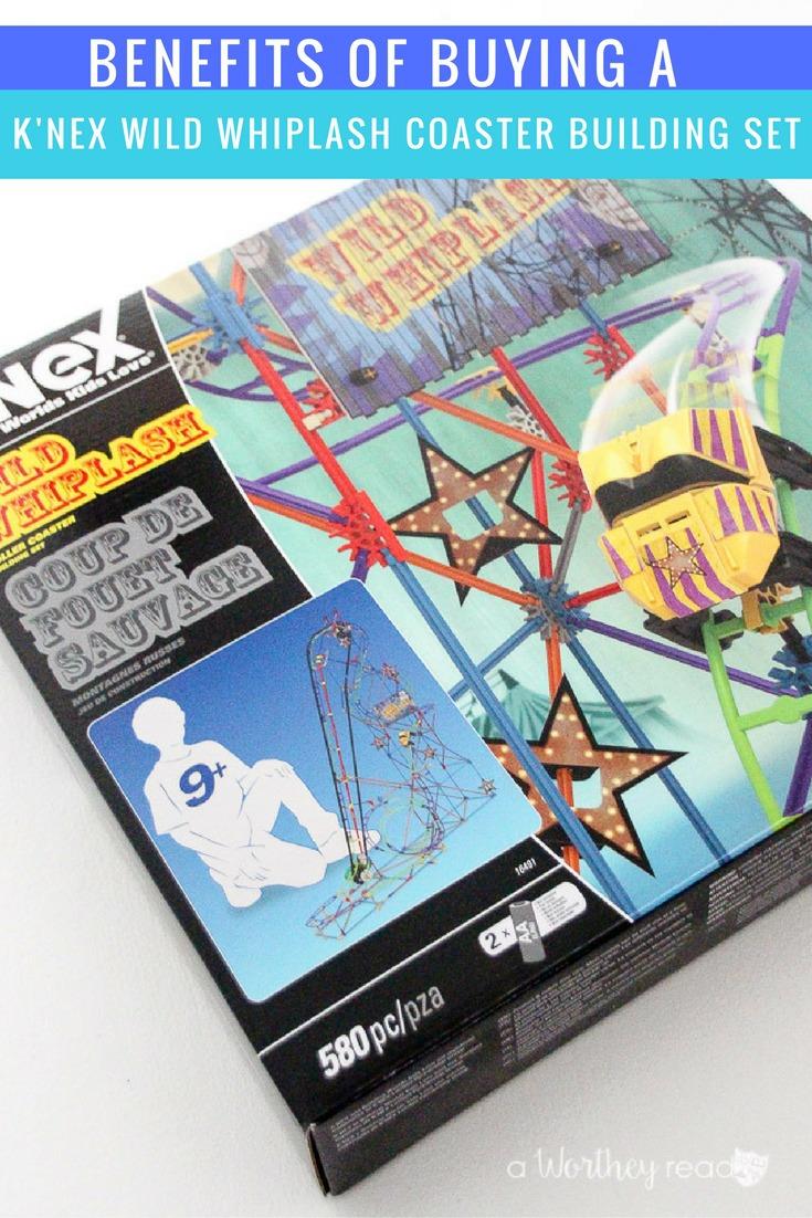 Christmas Gift Idea for kids: Benefits of Buying A K'NEX Wild Whiplash Coaster Building Set