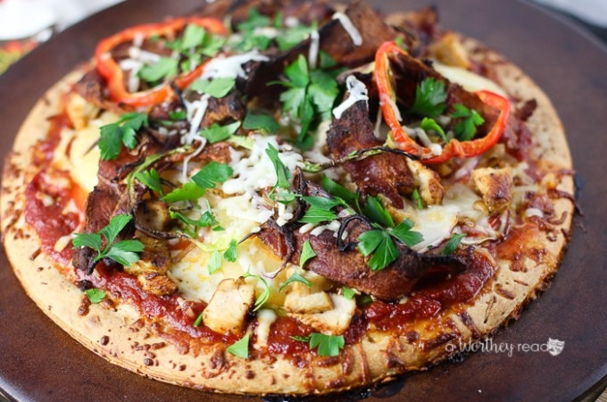 Super Bowl parties are right around the corner. If you're looking for appetizer ideas to make for your tailgating or football party, try a savory pizza. Our Pineapple, Bacon & Chicken Pizza recipe is a great dish to serve at your party. This will also work for award watching parties and more! Click through to get the recipe!