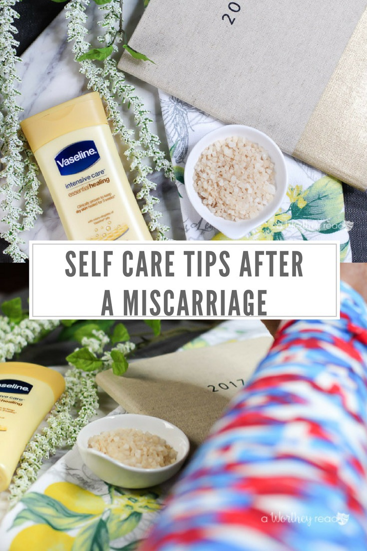 Going through a miscarriage can be a painful and lonely experience. It's important to take care of yourself and properly heal. Read my self-care tips after a miscarriage, and hopefully they will help you find your own place of healing.