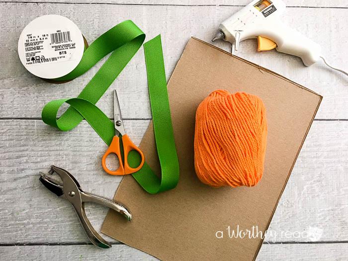 Easy easter yarn craft