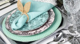 Easter Tablescape idea