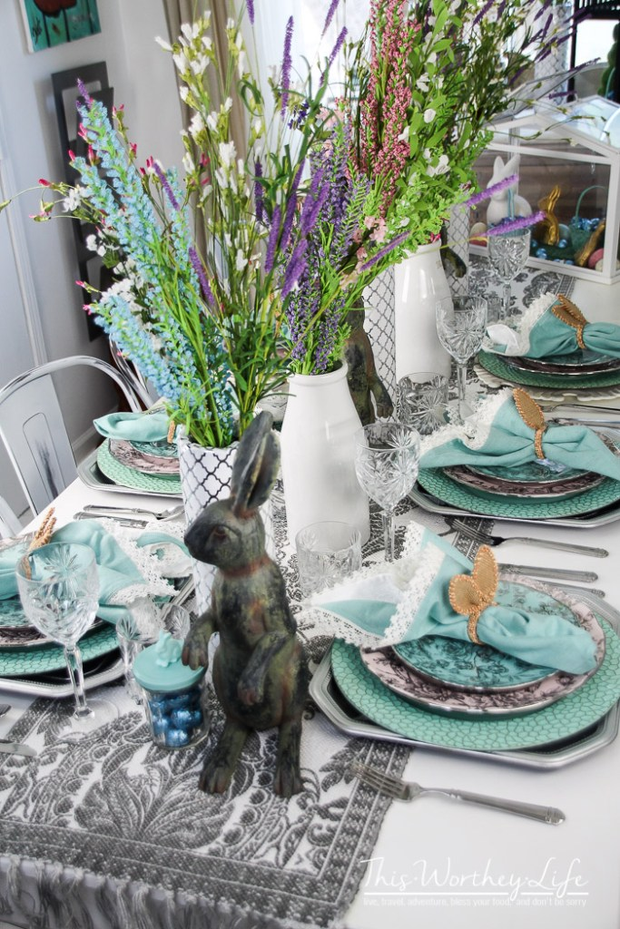 Easy Spring Tablescape Ideas