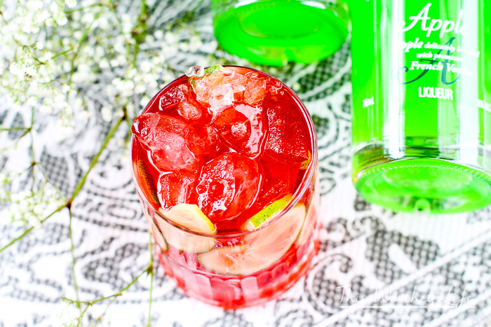 Apple-Cran Splash Cocktail