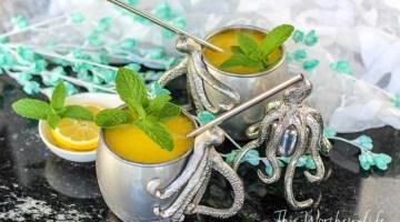 Caribbean Lemon-Rum Mango Slush-11