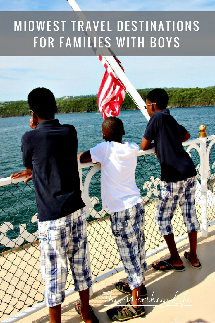 Don't miss our top picks for Midwest Travel Destinations For Families With Boys! These cities offer great family friendly adventures that fit into a budget easily!