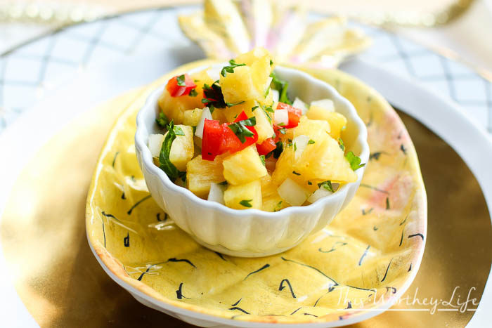 Homemade Pineapple Salsa