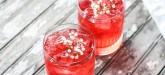 This summer cocktail is worth trying! Red Velvet Cocktail mixed with vodka, red velvet syrup and a few other ingredients is one pretty summer drink!