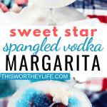 Red, White & Blue Vodka Margarita