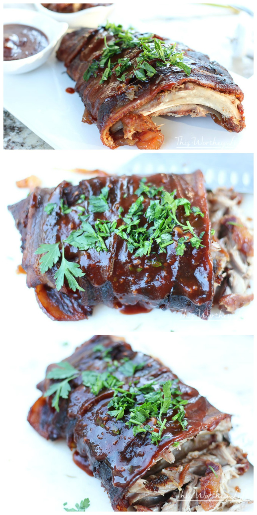 Get your grill on with this rib recipe! If you want falling off the bone ribs, then I'm sharing tips on how to make the best ribs! Plus with bacon! Get the recipe on the blog for Bacon Wrapped Baby Back Ribs Grilling Recipe