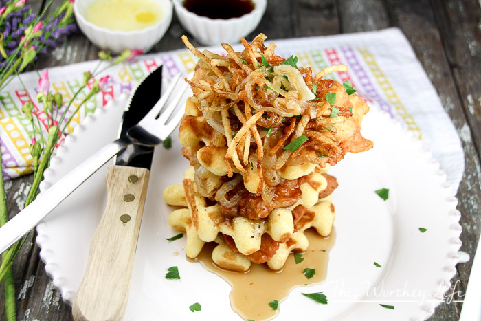 Easy Chicken + Waffles Recipe