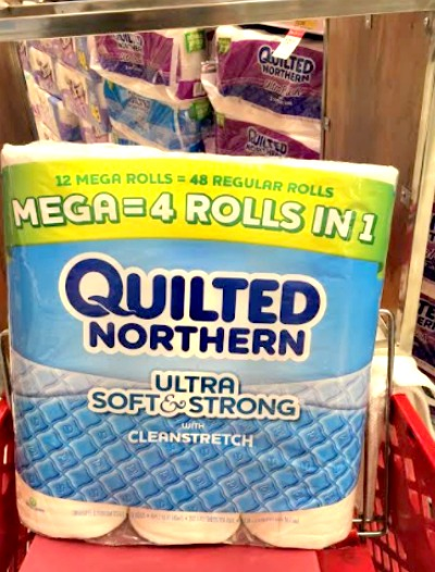 Quilted Northern at Target