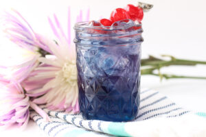 Blueberry Lemonade Mocktail