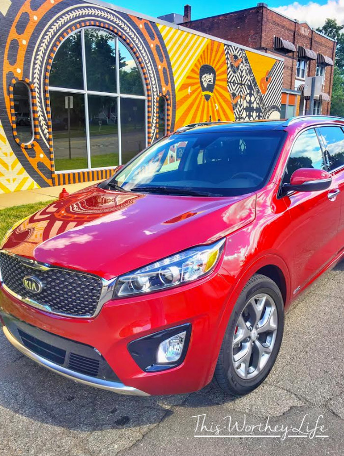 KIA Sorento SX AWD Review