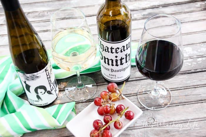 Red Wine and White Wine Pairings