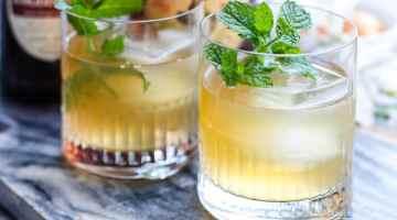 American Bourbon Mule Cocktail
