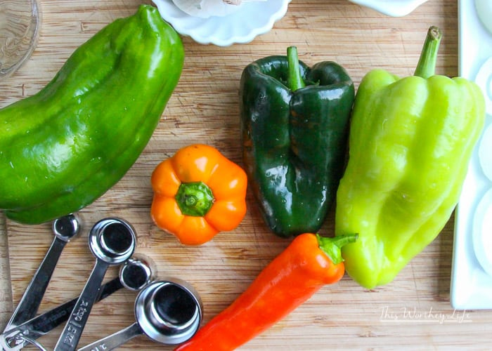 Garden Okra + Pickled Peppers Tutorial