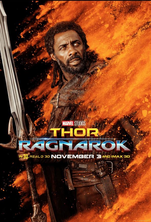 Thor Ragnarok- Idris Elba
