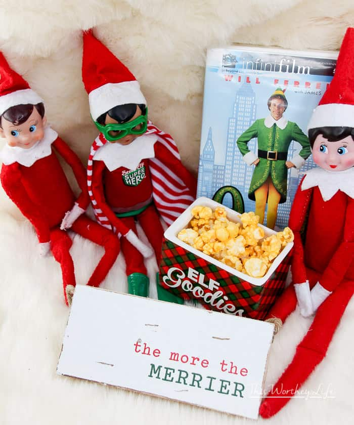 Simple Elf on the Shelf Ideas