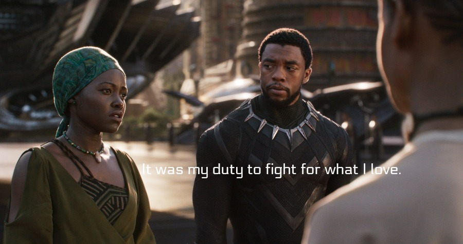 Black Panther quotes