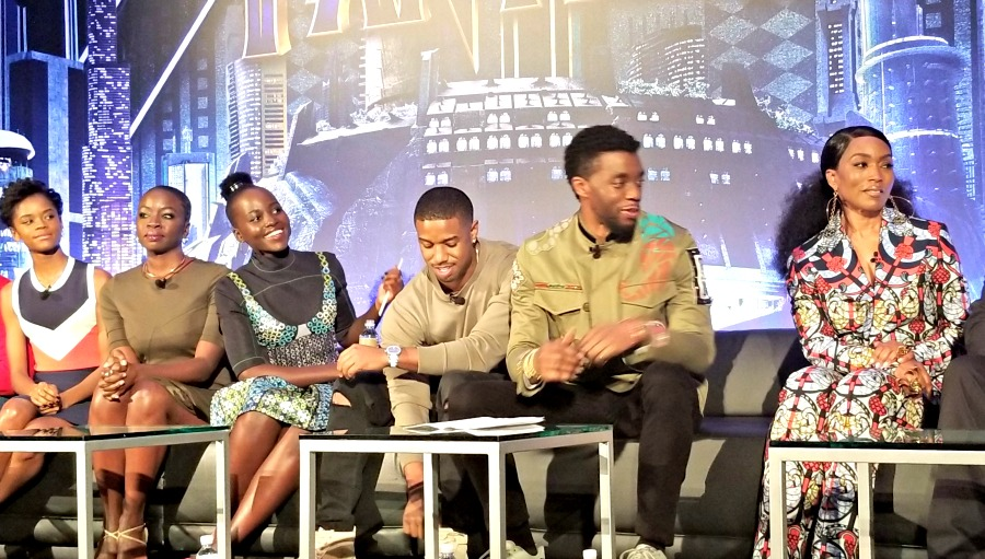 Black Panther Press Conference